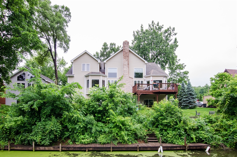 Real Estate Photography - 1545 N Harrison St, Algonquin, IL, 60102 - Rear View