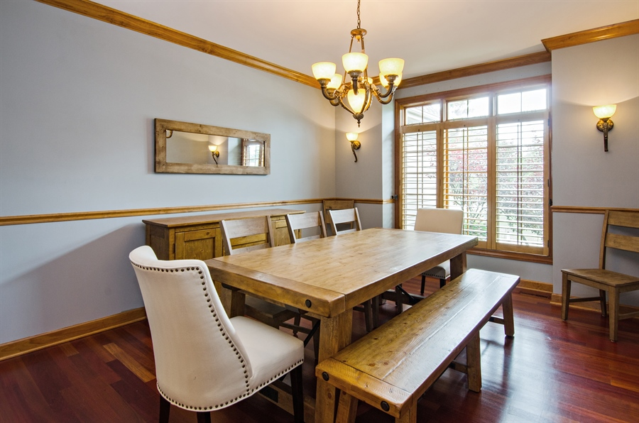 Real Estate Photography - 7930 Dunhill, Lakewood, IL, 60014 - Dining Room