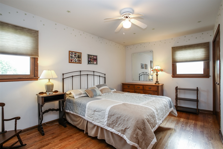 Real Estate Photography - 1015 Lancaster, Mount Prospect, IL, 60056 - Bedroom