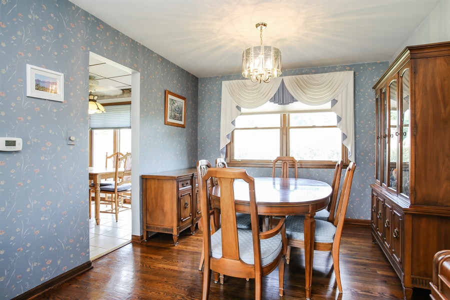 Real Estate Photography - 1015 Lancaster, Mount Prospect, IL, 60056 - Dining Room