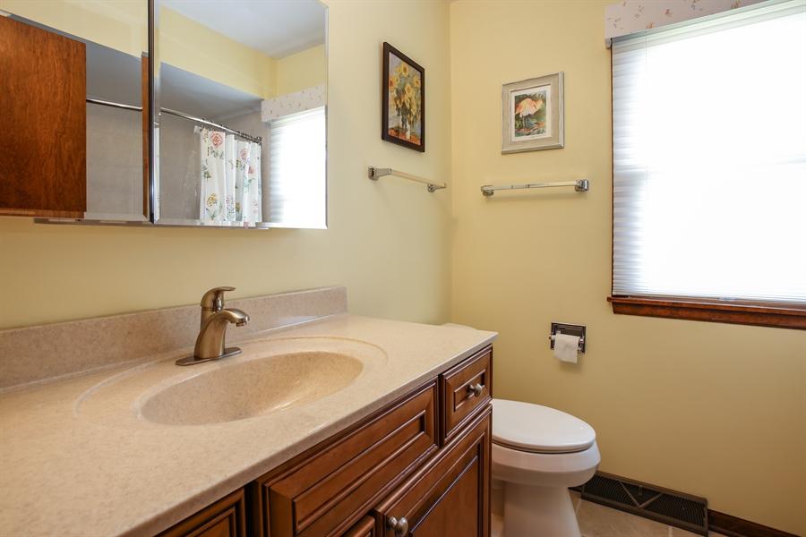 Real Estate Photography - 1015 Lancaster, Mount Prospect, IL, 60056 - 2nd Bathroom