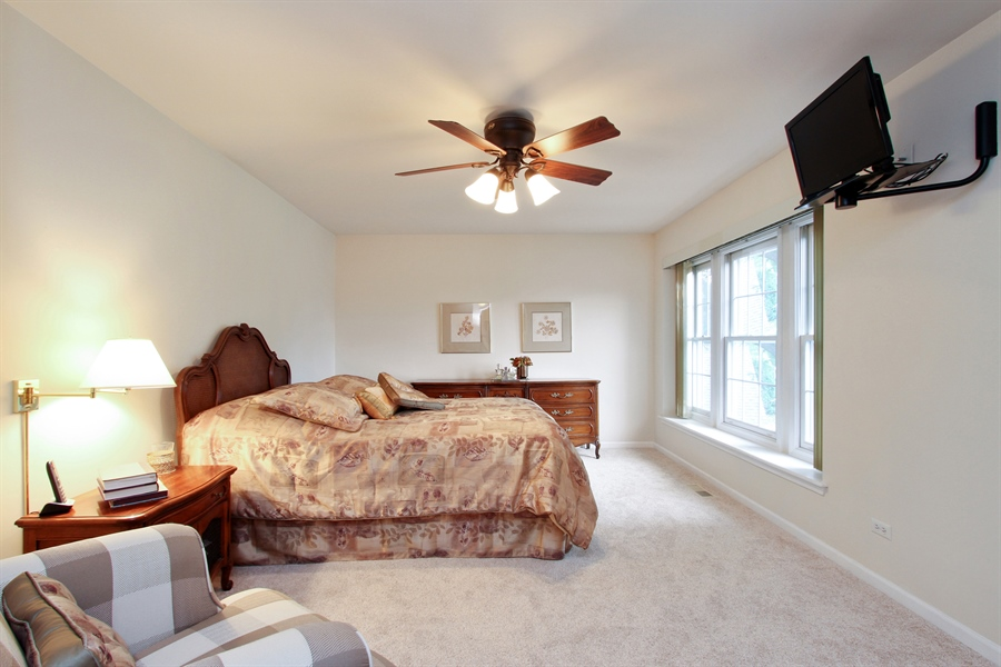 Real Estate Photography - 991 Sutherland Drive, Crystal Lake, IL, 60014 - Master Bedroom