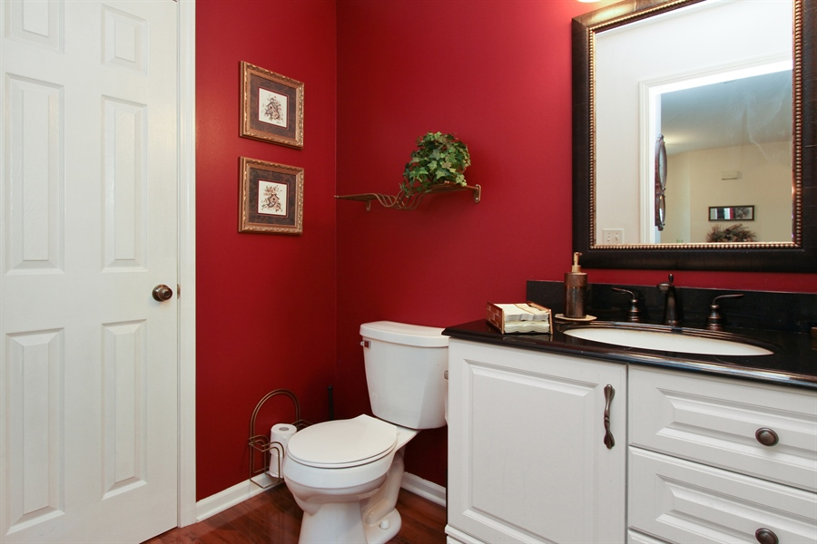 Real Estate Photography - 991 Sutherland Drive, Crystal Lake, IL, 60014 - Powder Room