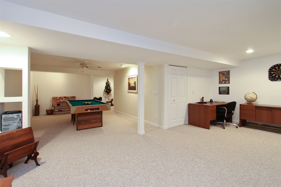 Real Estate Photography - 991 Sutherland Drive, Crystal Lake, IL, 60014 - Basement