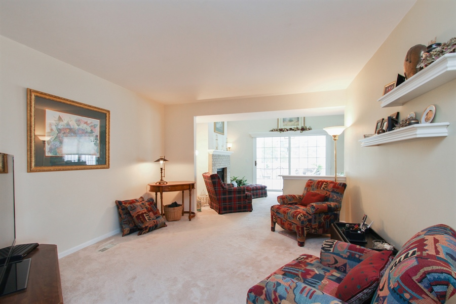 Real Estate Photography - 991 Sutherland Drive, Crystal Lake, IL, 60014 - Family Room