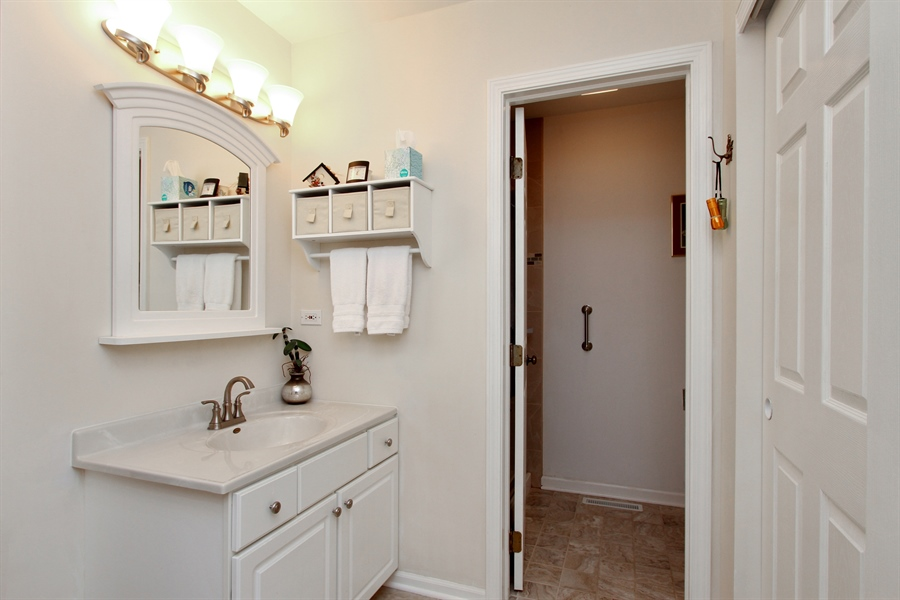 Real Estate Photography - 991 Sutherland Drive, Crystal Lake, IL, 60014 - Bathroom