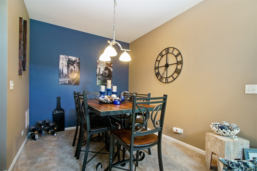 Real Estate Photography - 6100 Canterbury Ln., Hoffman Estates, IL, 60192 - Dining Room