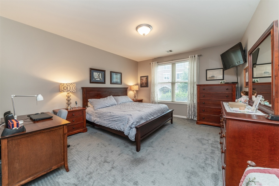 Real Estate Photography - 271 E Railroad Ave, 105, Bartlett, IL, 60103 - Master Bedroom
