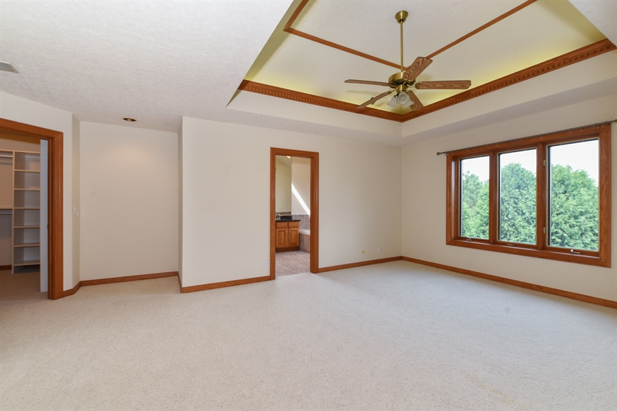 Real Estate Photography - 421 Lewis, Geneva, IL, 60134 - Master Bedroom