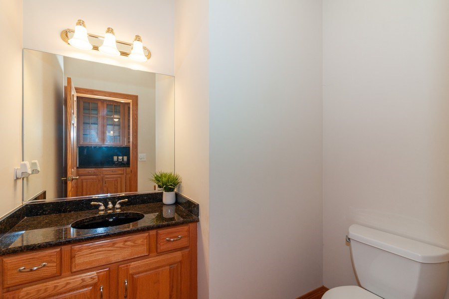 Real Estate Photography - 421 Lewis, Geneva, IL, 60134 - Powder Room