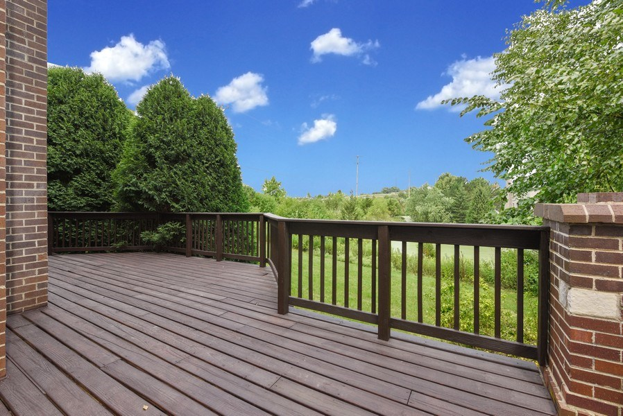 Real Estate Photography - 421 Lewis, Geneva, IL, 60134 - Deck