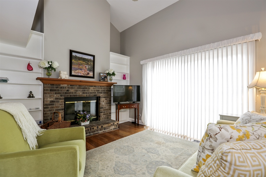 Real Estate Photography - 763 Regency, Crystal Lake, IL, 60014 - Living Room