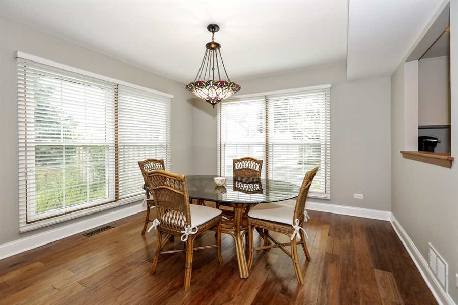Real Estate Photography - 763 Regency, Crystal Lake, IL, 60014 - Dining Room