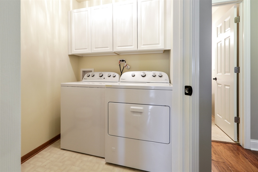 Real Estate Photography - 763 Regency, Crystal Lake, IL, 60014 - Laundry Room