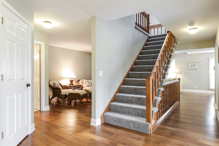 Real Estate Photography - 763 Regency, Crystal Lake, IL, 60014 - Staircase