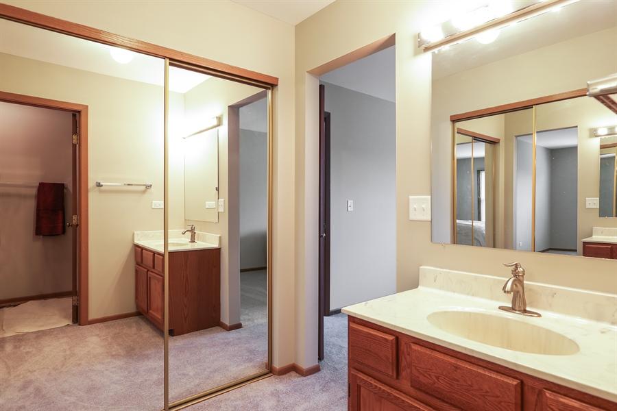 Real Estate Photography - 763 Regency, Crystal Lake, IL, 60014 - 2nd Bathroom