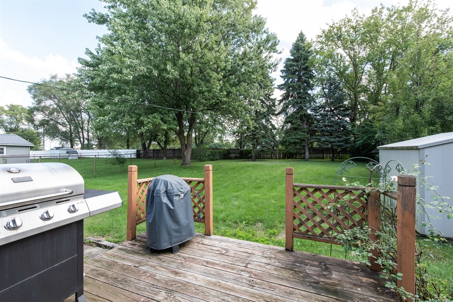 Real Estate Photography - 204 Green Ct, Streamwood, IL, 60107 - Back Yard