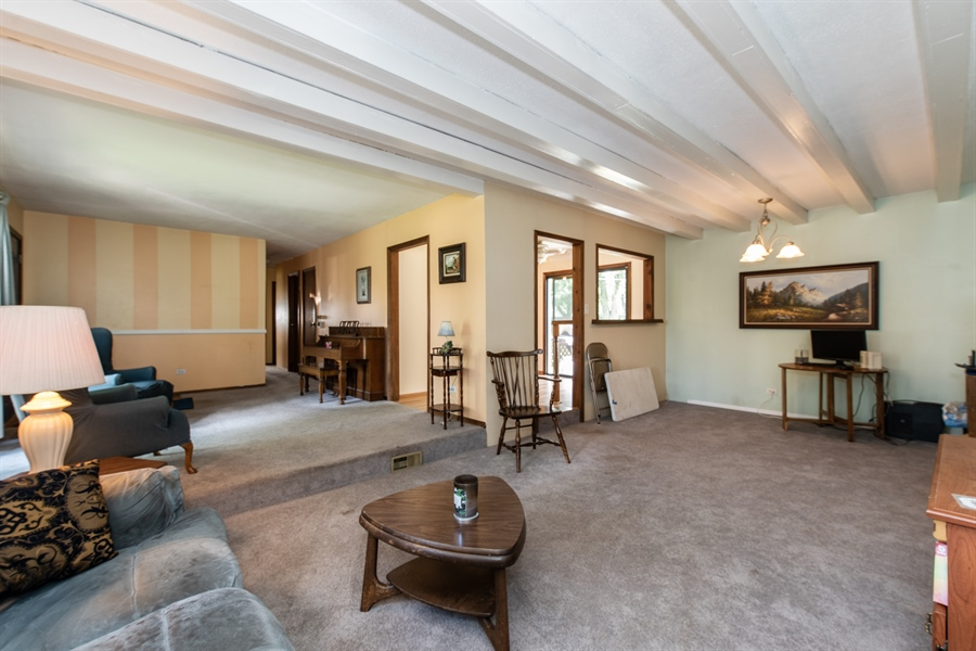 Real Estate Photography - 204 Green Ct, Streamwood, IL, 60107 - Living Room / Dining Room