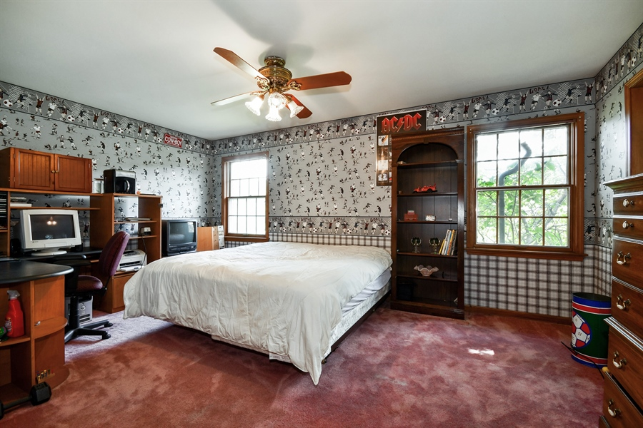Real Estate Photography - 5N832 E. Ridgewood Drive, St. Charles, IL, 60175 - 3rd Bedroom