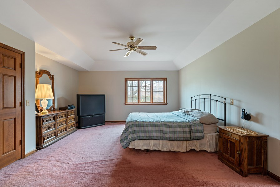 Real Estate Photography - 5N832 E. Ridgewood Drive, St. Charles, IL, 60175 - Master Bedroom