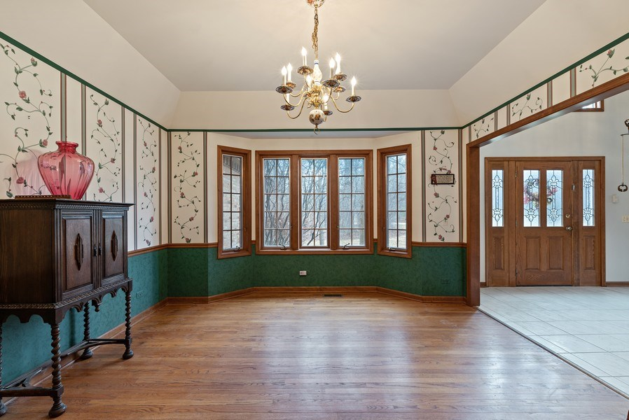 Real Estate Photography - 5N832 E. Ridgewood Drive, St. Charles, IL, 60175 - Painted Dining Room