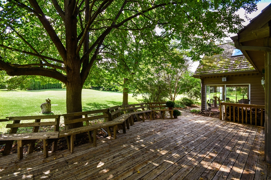 Real Estate Photography - 5N832 E. Ridgewood Drive, St. Charles, IL, 60175 - Deck