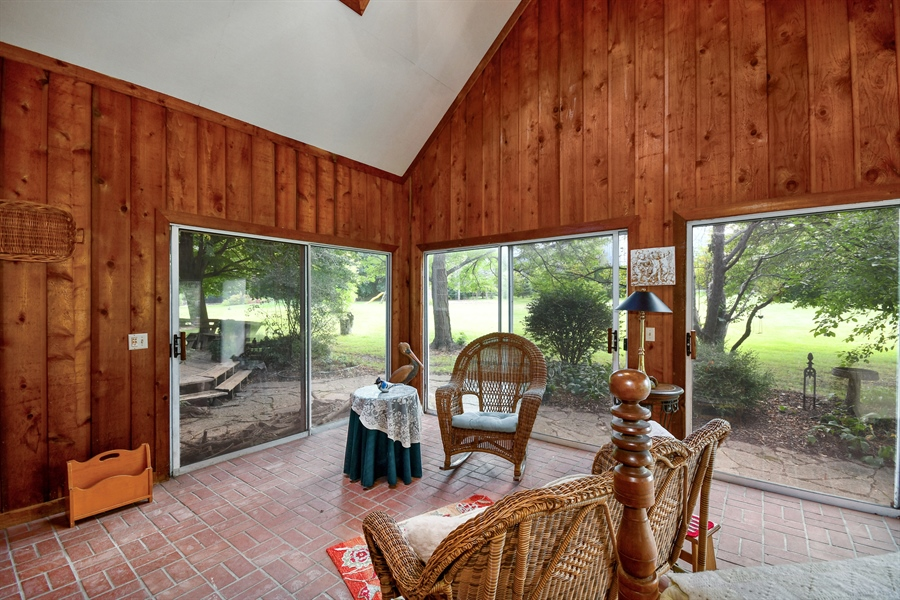 Real Estate Photography - 5N832 E. Ridgewood Drive, St. Charles, IL, 60175 - Sun Room