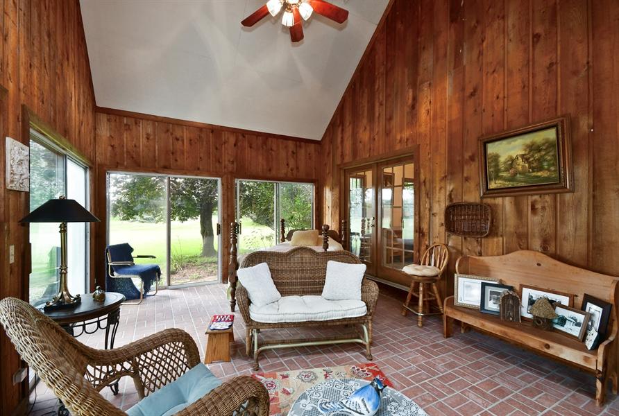 Real Estate Photography - 5N832 E. Ridgewood Drive, St. Charles, IL, 60175 - Sunroom