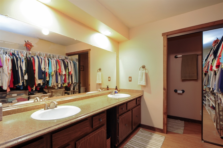 Real Estate Photography - 2736 Knob Hill, Johnsburg, IL, 60051 - Master Bathroom