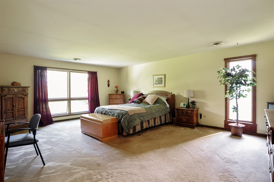 Real Estate Photography - 2736 Knob Hill, Johnsburg, IL, 60051 - Master Bedroom