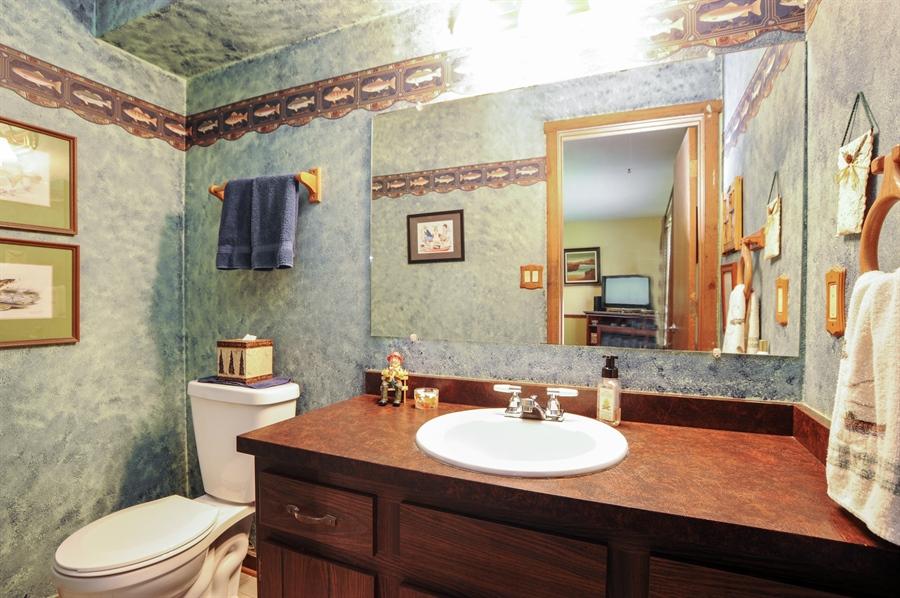 Real Estate Photography - 2736 Knob Hill, Johnsburg, IL, 60051 - Powder Room
