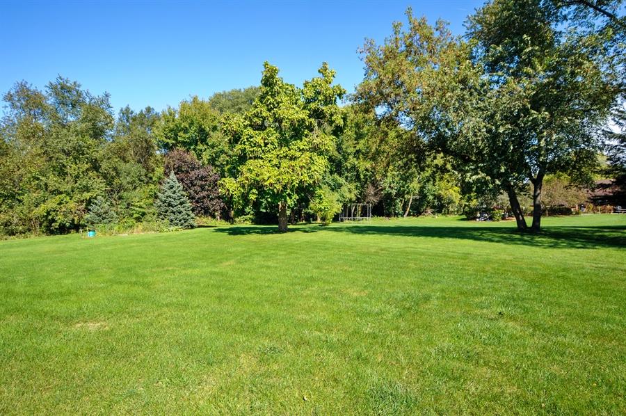 Real Estate Photography - 2736 Knob Hill, Johnsburg, IL, 60051 - Back Yard
