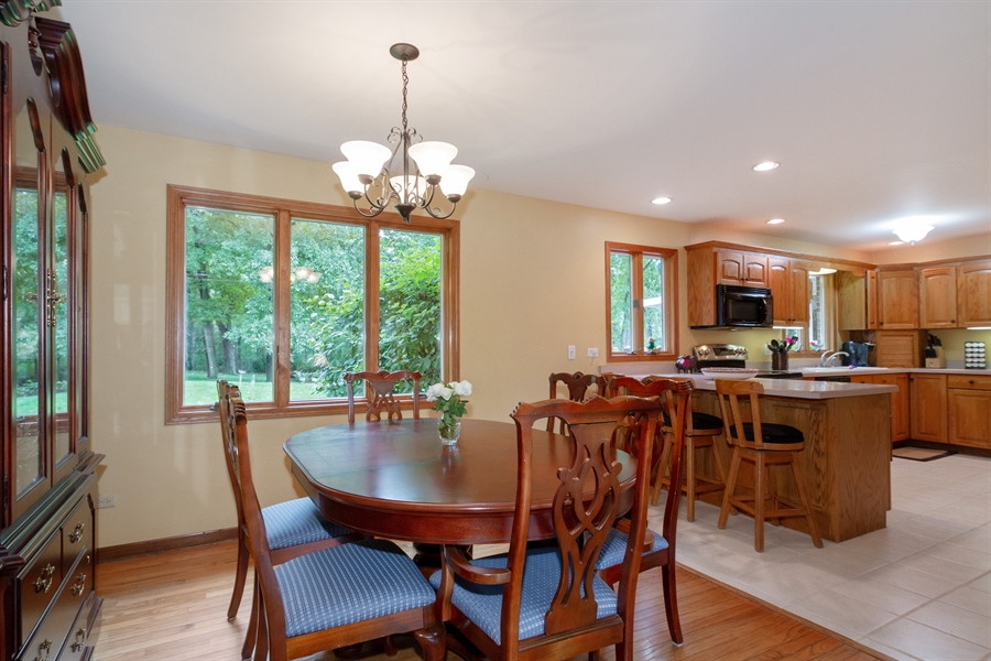Real Estate Photography - 993 Tara Drive, Woodstock, IL, 60098 - Dining Room
