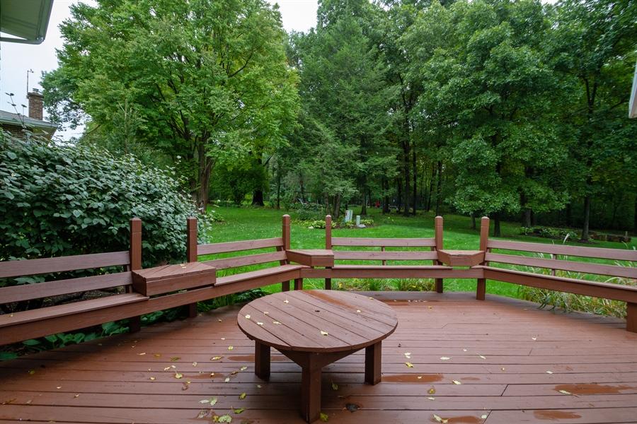 Real Estate Photography - 993 Tara Drive, Woodstock, IL, 60098 - Deck