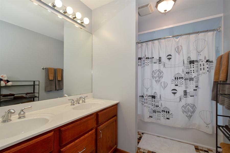 Real Estate Photography - 993 Tara Drive, Woodstock, IL, 60098 - Bathroom