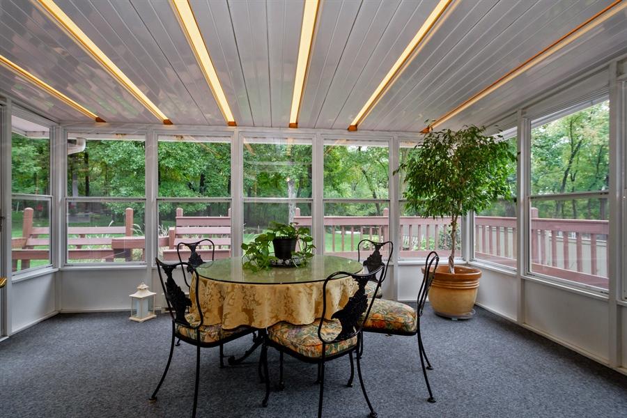 Real Estate Photography - 993 Tara Drive, Woodstock, IL, 60098 - Sun Room