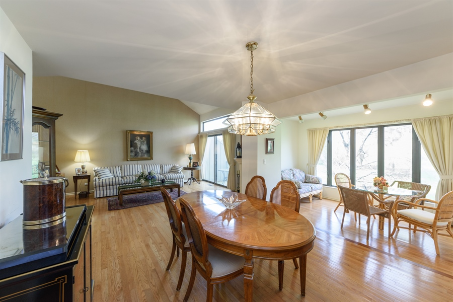 Real Estate Photography - 864 Oak Hill Road, Lake Barrington, IL, 60010 - Living Room / Dining Room