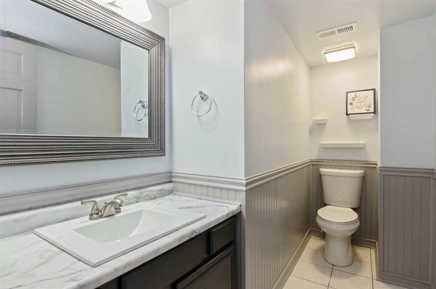 Real Estate Photography - 833 Willow, Lake In The Hills, IL, 60156 - 3rd Bathroom