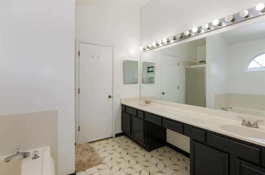 Real Estate Photography - 833 Willow, Lake In The Hills, IL, 60156 - Master Bathroom