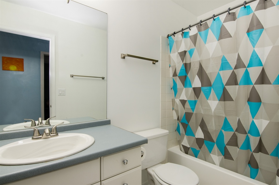 Real Estate Photography - 833 Willow, Lake In The Hills, IL, 60156 - 2nd Bathroom