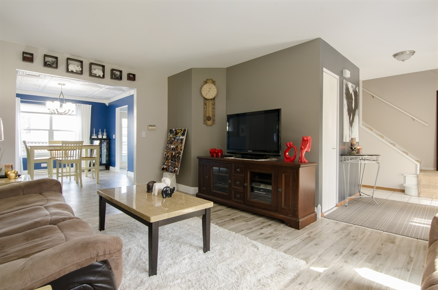 Real Estate Photography - 833 Willow, Lake In The Hills, IL, 60156 - Living Room / Dining Room