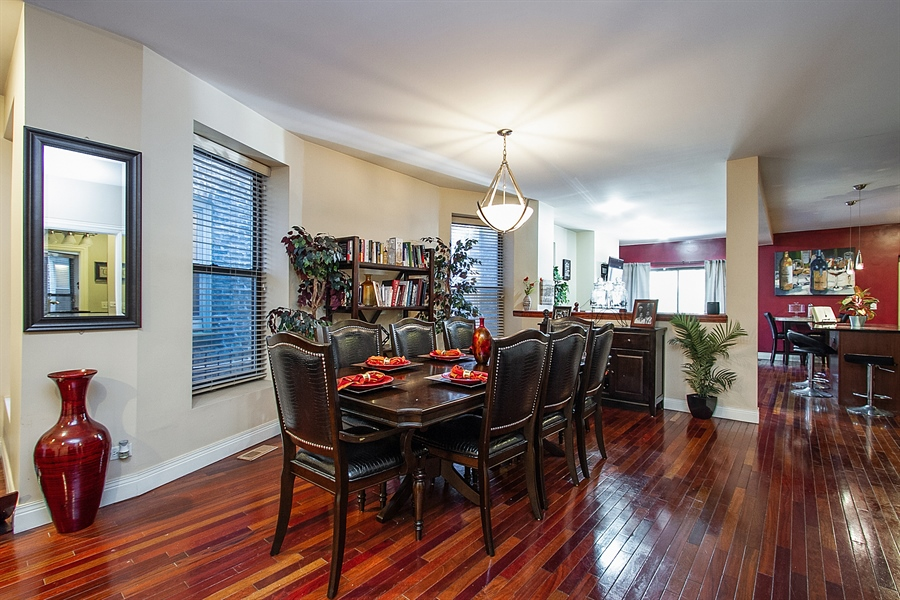 Real Estate Photography - 6547 S. Ellis Avenue, Unit 1N, Chicago, IL, 60637 - Dining Room