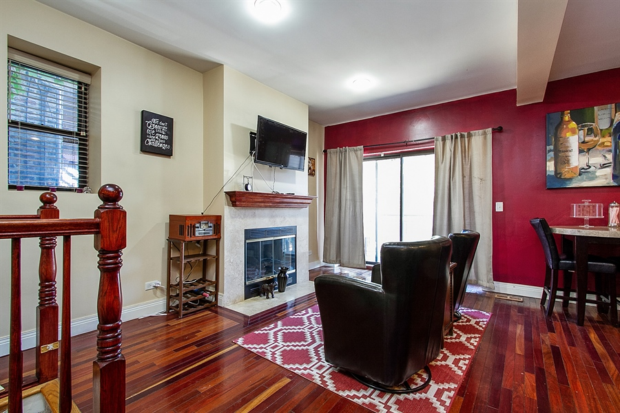 Real Estate Photography - 6547 S. Ellis Avenue, Unit 1N, Chicago, IL, 60637 - Family Room