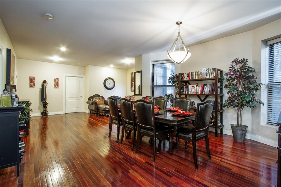 Real Estate Photography - 6547 S. Ellis Avenue, Unit 1N, Chicago, IL, 60637 - Dining Area