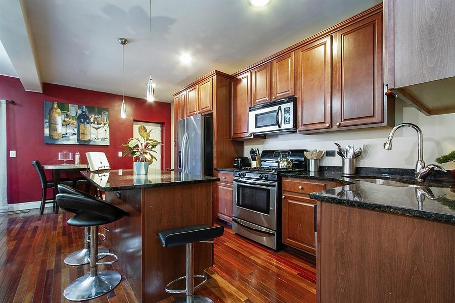 Real Estate Photography - 6547 S. Ellis Avenue, Unit 1N, Chicago, IL, 60637 - Kitchen