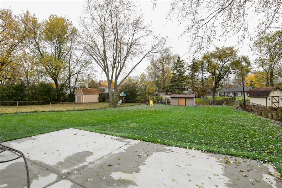 Real Estate Photography - 2031 W. Parkview Cir., Hoffman Estates, IL, 60169 - Back Yard
