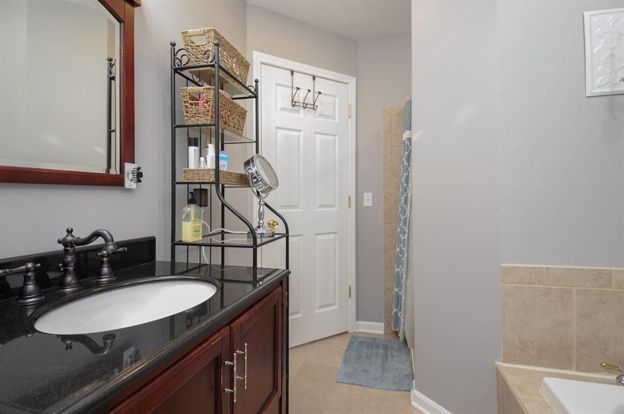 Real Estate Photography - 5701 Wonder Woods, Wonder Lake, IL, 60097 - Master Bathroom