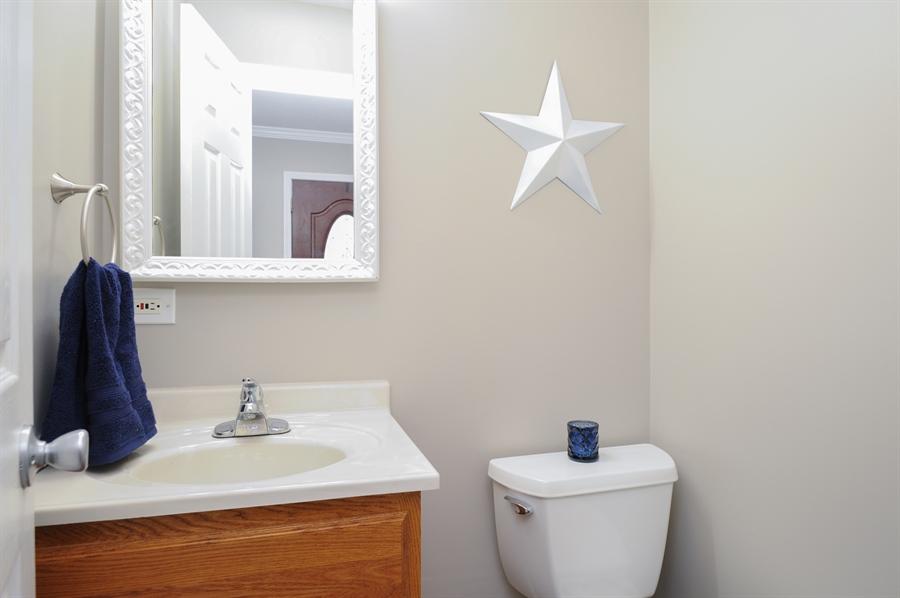 Real Estate Photography - 5701 Wonder Woods, Wonder Lake, IL, 60097 - Powder Room
