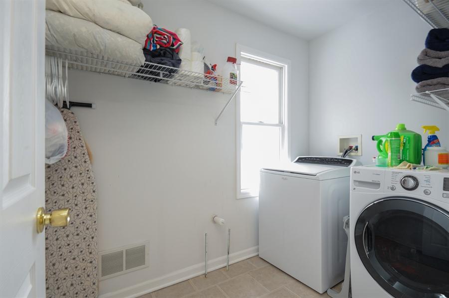 Real Estate Photography - 5701 Wonder Woods, Wonder Lake, IL, 60097 - Laundry Room