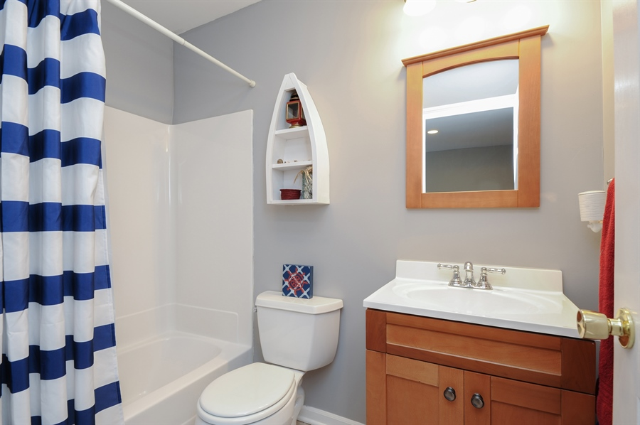 Real Estate Photography - 5701 Wonder Woods, Wonder Lake, IL, 60097 - Bathroom